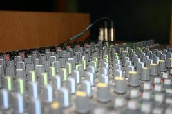 Katjas Mischpult - der Grund für den guten Ton