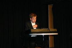 Der Majestro am Piano